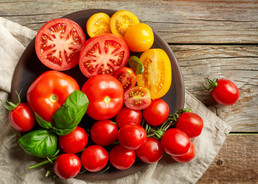 The Goodness of Tomatoes - 5 simple meals.