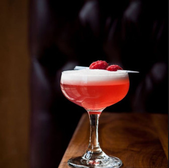 Celebrate the month of love with a Roku Gin Clover Club.