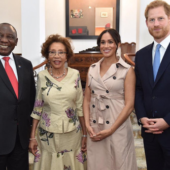 The Duke and Duchess of Sussex, wrap up SA tour with presidential visit.