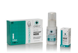 OBEL RESPIECLEAR New Eucalytptus & Menthol Formulation Has Excellent Anti-Viral Properties.