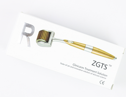 We are obsessed with the ZGTS titanium Dermaroller - it's the at-home skin solution!