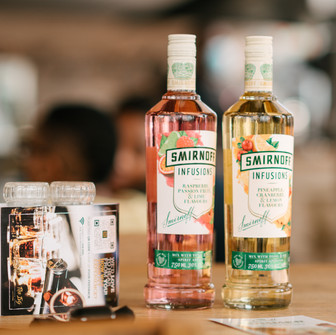 Introducing a burst of naturally infused flavors with the new SMIRNOFF INFUSIONS.