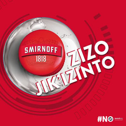 Smirnoff 1818  Zizojik'izinto winner  walks away with Toyota Agya worth over R175 000.00.