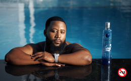 CÎROC & CASSPER NYOVEST celebrate the #FILLUP series with a limited edition bottle design.