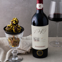 Roodeberg celebrates World Chocolate Day with decadent truffles and truffle recipe by Elmarie Berry.