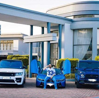 Shona Ferguson shows off his massive mansion and luxury cars - living the South African DREAM!