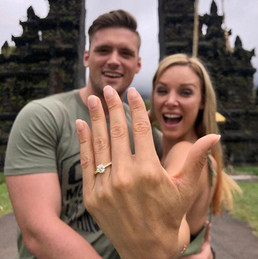 Jade Hubner is officially off the market!