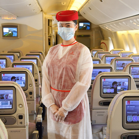Emirates sets industry-leading safety standard for customers travelling as it resumes operations.