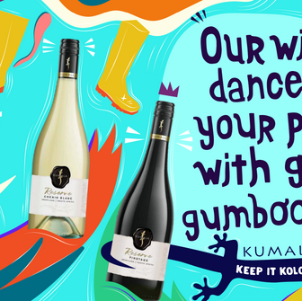 Wine Brand, Kumala launches its Reserve Range in South Africa.