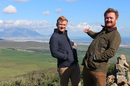 It is Wine, Dine and Stein Time ... as Rick Steins sons shoot new TV series in South Africa.