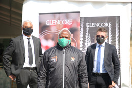 Glencore hands over R30 million state of the art community clinic to the NW Province Department.