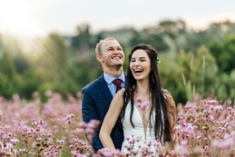 """Dillion Smit weds the woman of his dreams in a """"village made in heaven ."""""""