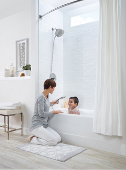 Your showerhead: the ticket to the perfect escape.