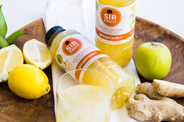 SIR FRUIT launches all-new gingerade+ to join it's healthy juice family.