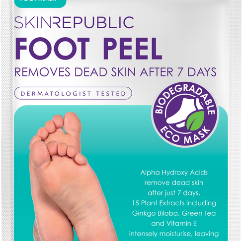 The Ultimate At-Home Pedi with Skin republic.
