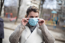 Cloth and Surgical Masks can cause pimples, dry skin and other problems.