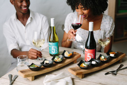 Delightful canapés meet their match with the Spier 5.5% Seasonal Tasting.