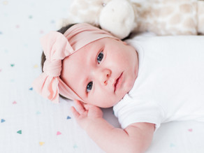 Sweet and Sentimental At Home Lifestyle Newborn Session