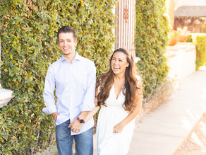 Charming Old Town Scottsdale Engagement Session