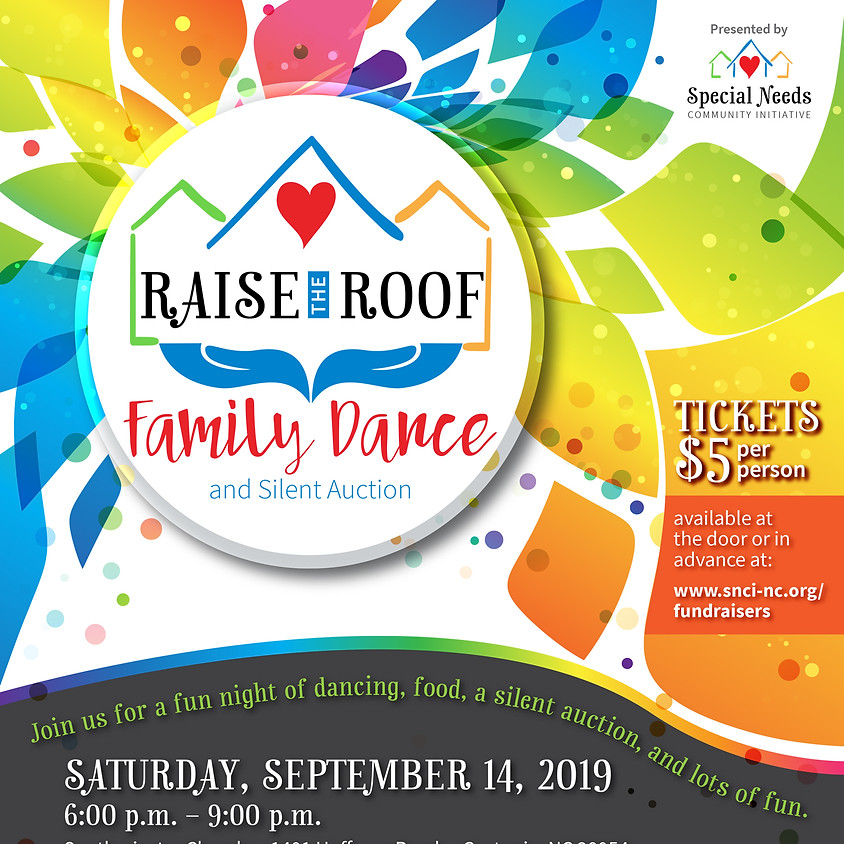 Raise the Roof Family Dance and Silent Auction