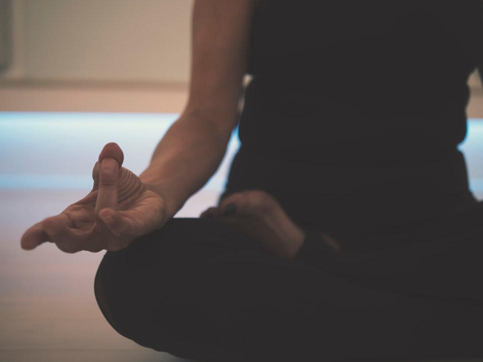 Udělejte si čas na meditaci
