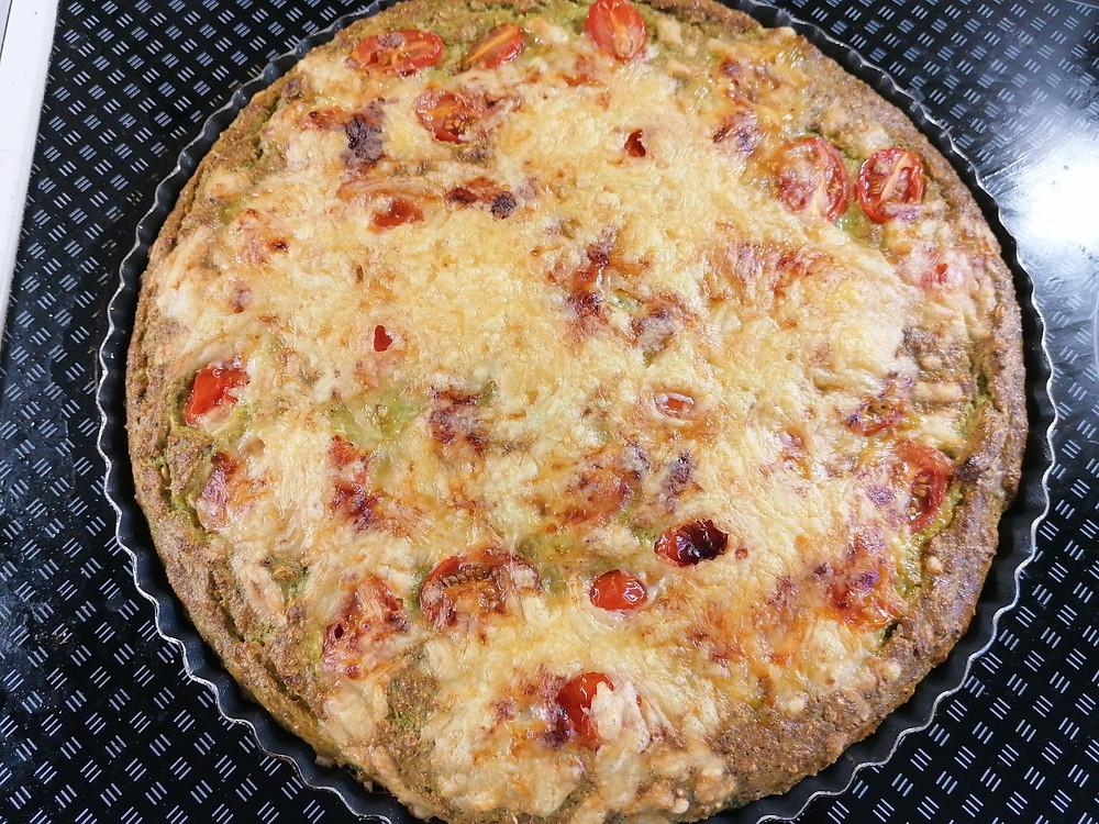 Recept na zdravý mrkvový / brokolicový koláč