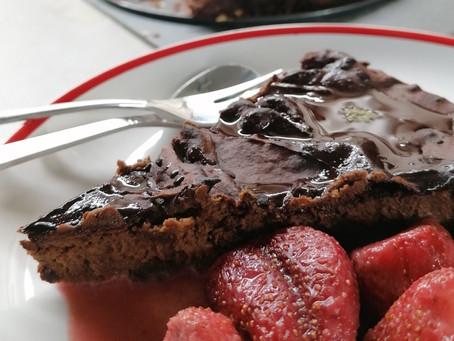 Batátové brownies s hořkou čokoládou