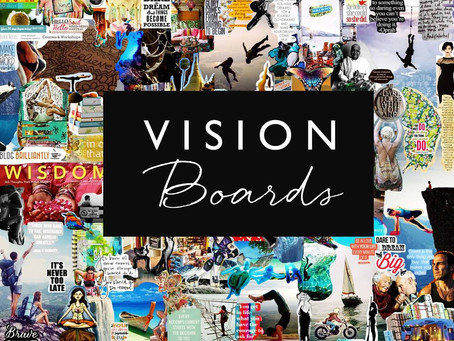 WHY YOUR VISION BOARD ISN'T HELPING YOU ACCOMPLISH ANYTHING