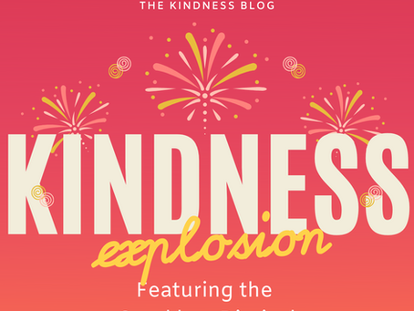 Kindness Explosion! Feature: Sparklers Diaries on The Kindness Blog