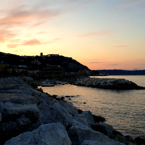 Exquisite Sunrises, Sunsets of Pozzuoli. Quickly Fly the Days ...