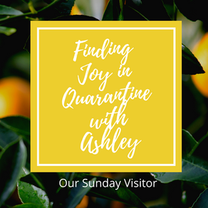My article for OSV: Finding Joy in Quarantine in Rome!