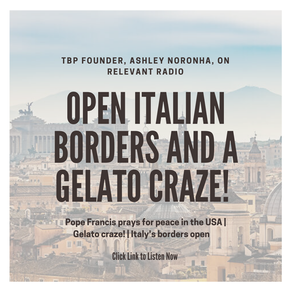 RR: Open borders & gelato craze!