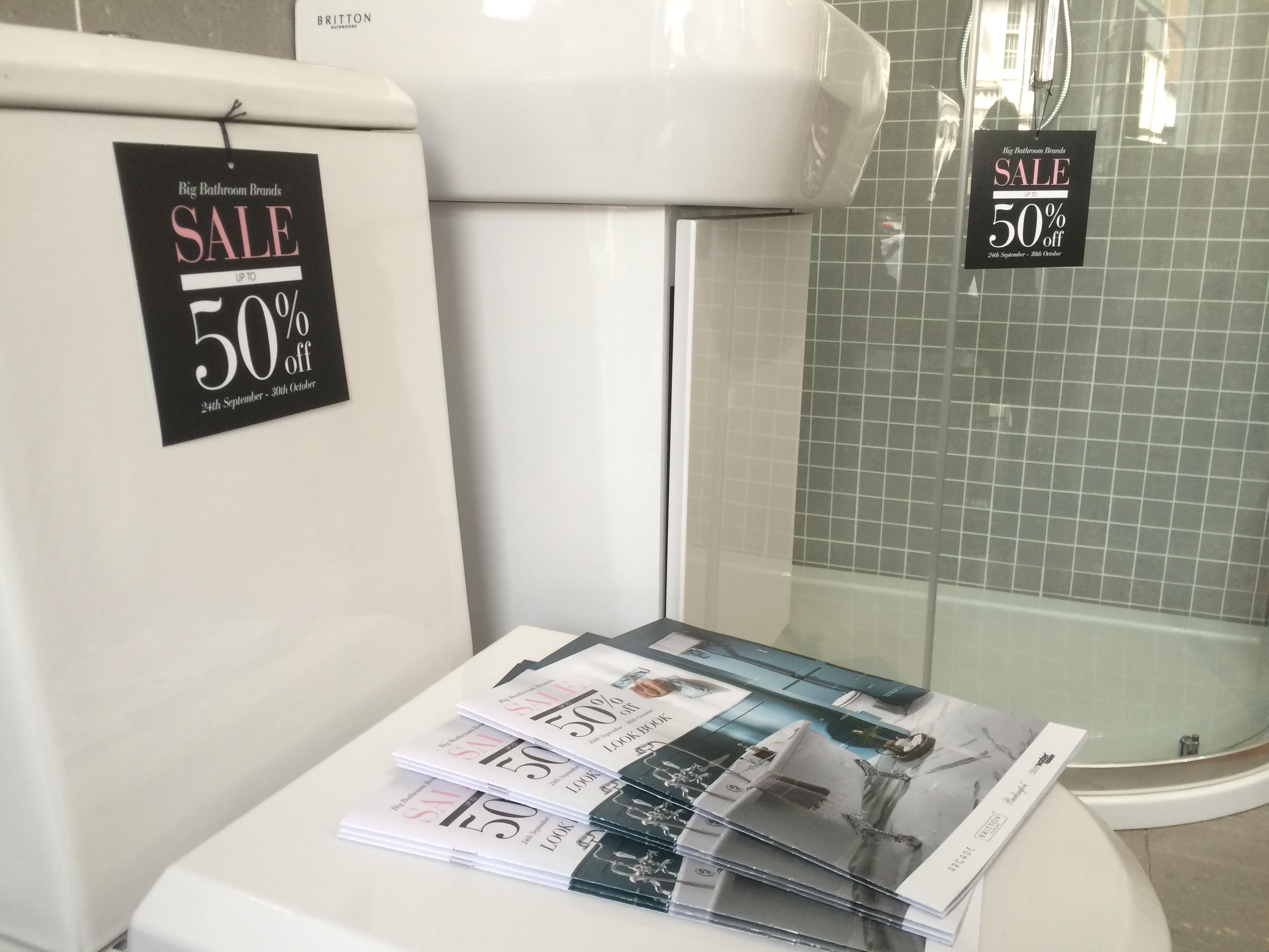 Big Bathroom Brand Sale