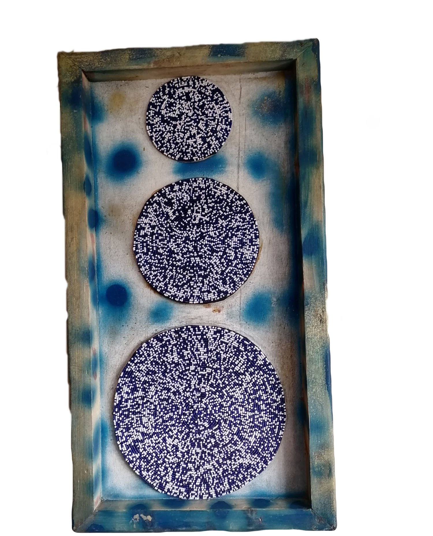 Blue & White Wall Hanging