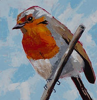 Painting of Robin