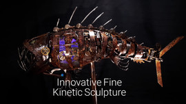 Ancient Viperfish Animated Sculpture