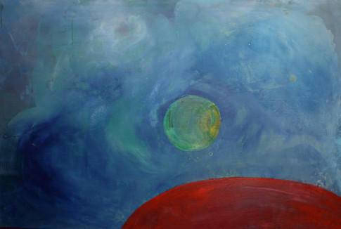 """""""Roter Planet"""" - 120x80"""