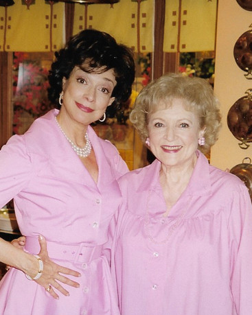 Dixie Carter and Betty White