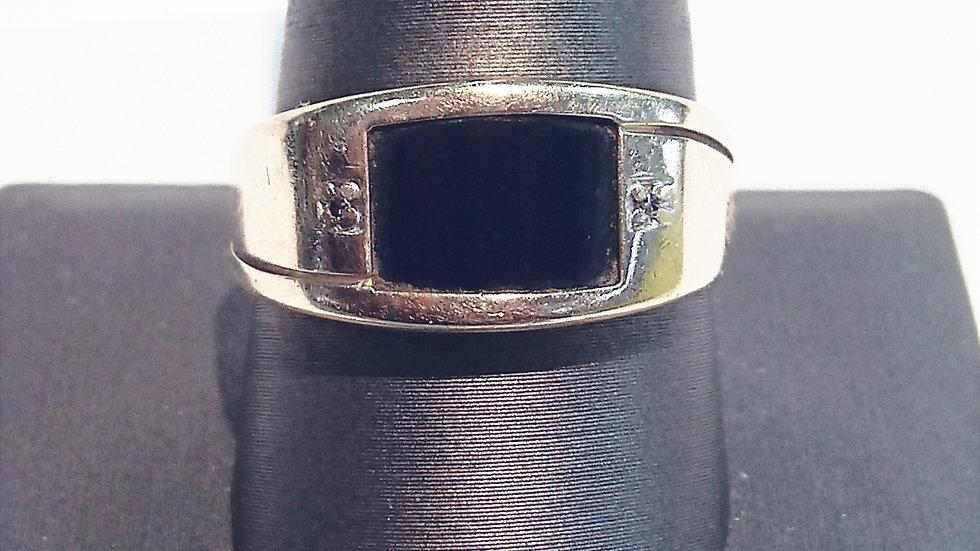 Men's 10kt Gemstone Fashion Ring