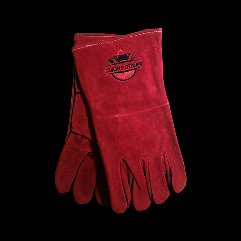 Special gloves made of heat-resistant material