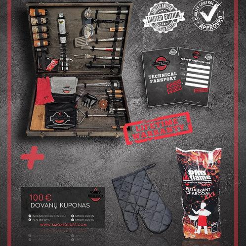 Smoke Dudes Diamond BBQ rinkinys | Limited Edition (70 pcs)
