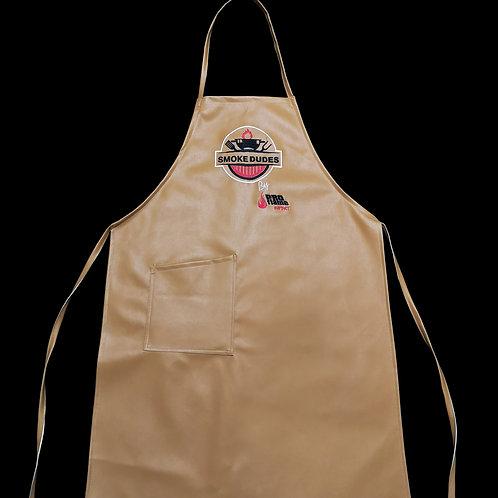 Women's Smoke Dudes BBQ apron with pocket
