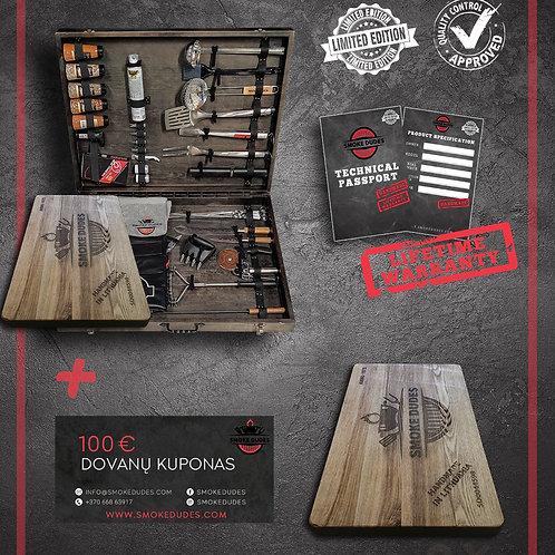 Smoke Dudes Diamond BBQ Set | Limited Edition (70 pcs)