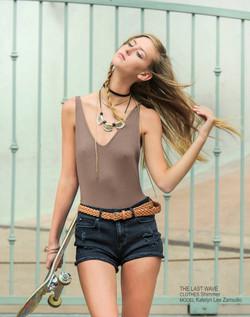 Avant Garde Magazine Model Katelyn