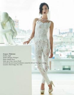 Avant Garde Magazine Model Monique Weing