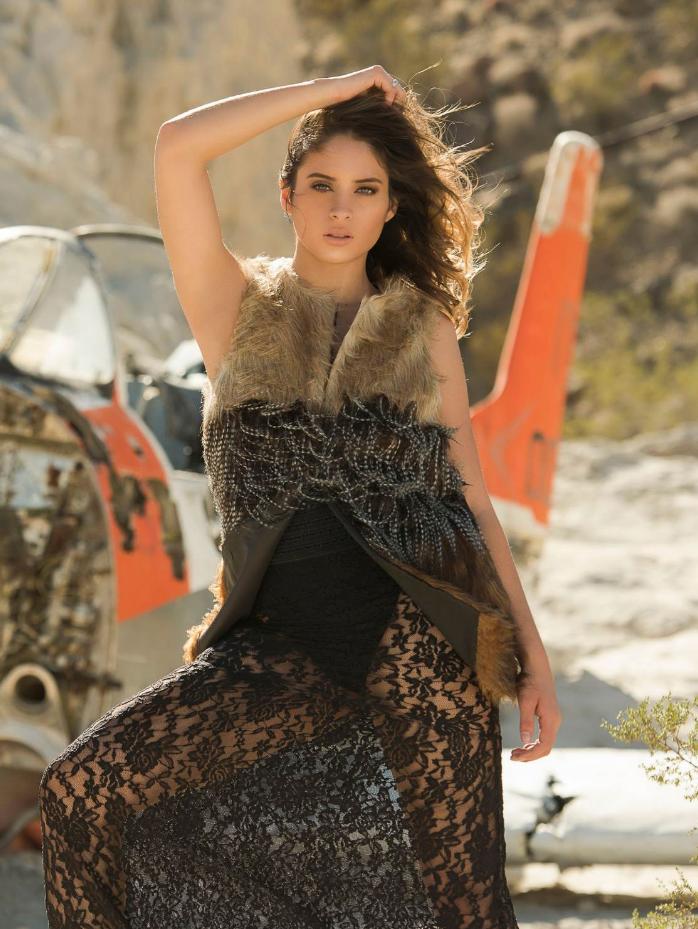 Avant Garde Magazine Models Karen
