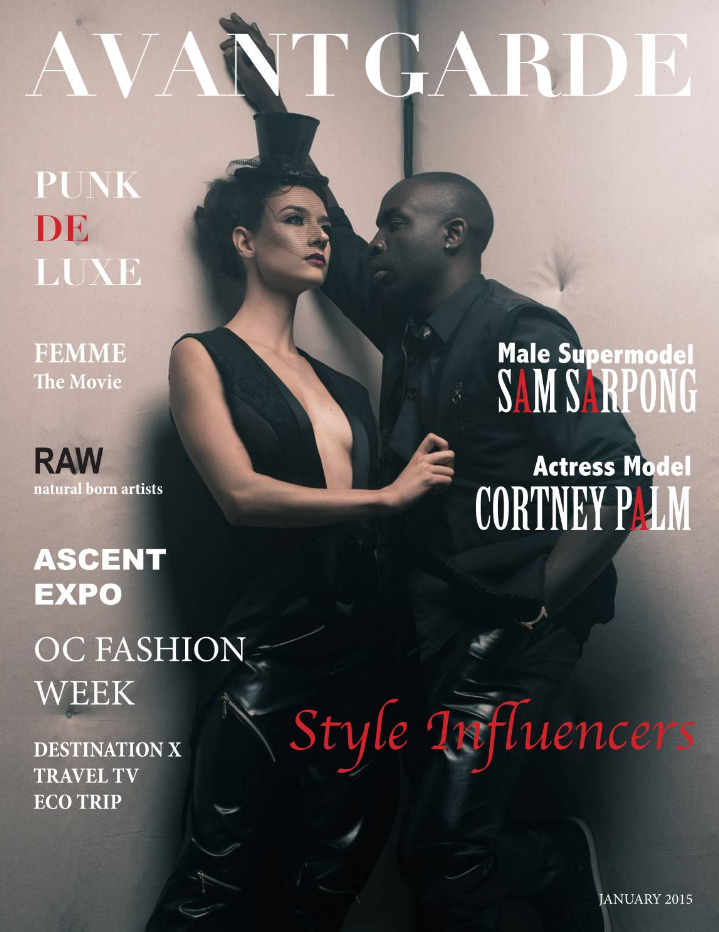 AVANT GARDE Magazine January Issue 2015.