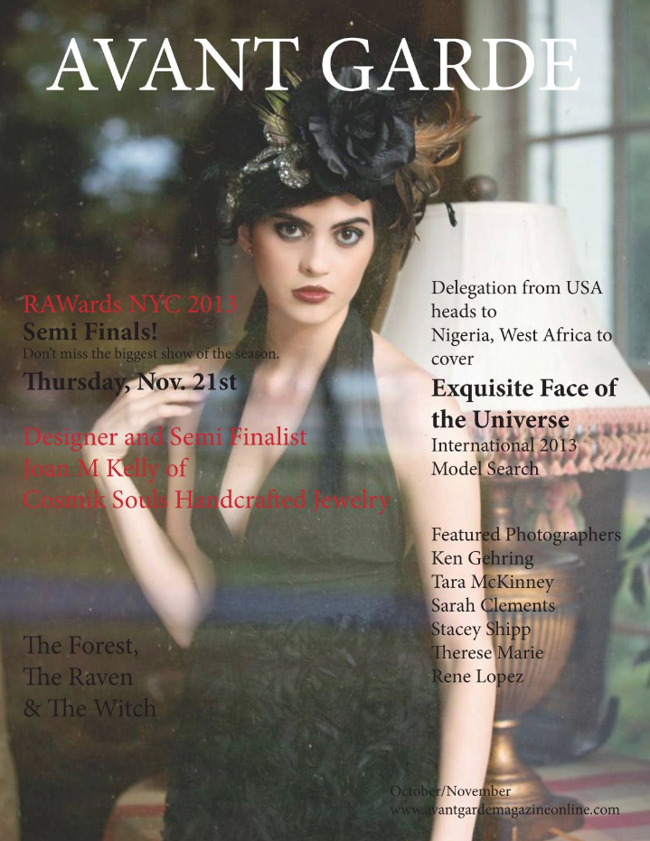 Avant Garde Magazine October November Is
