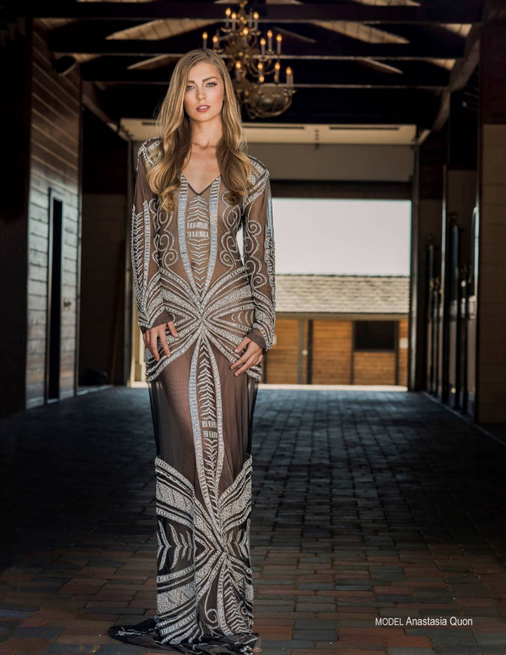 Avant Garde Magazine Model Anastasia Quo