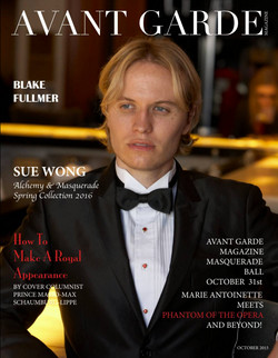 Avant Garde Magazine October Issue 2015